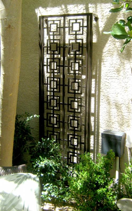 Trellis - Item TRE0006 Wrought Iron Design In Las Vegas