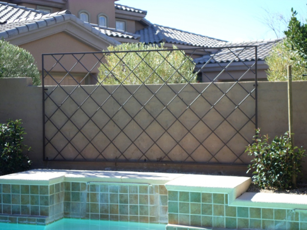Trellis - Item TRE0016 Wrought Iron Design In Las Vegas