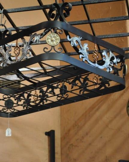 Wought IIron Pot Racks LV Wrought Iron Design In Las Vegas