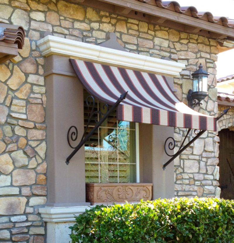 Wrought Iron Awning AW0001