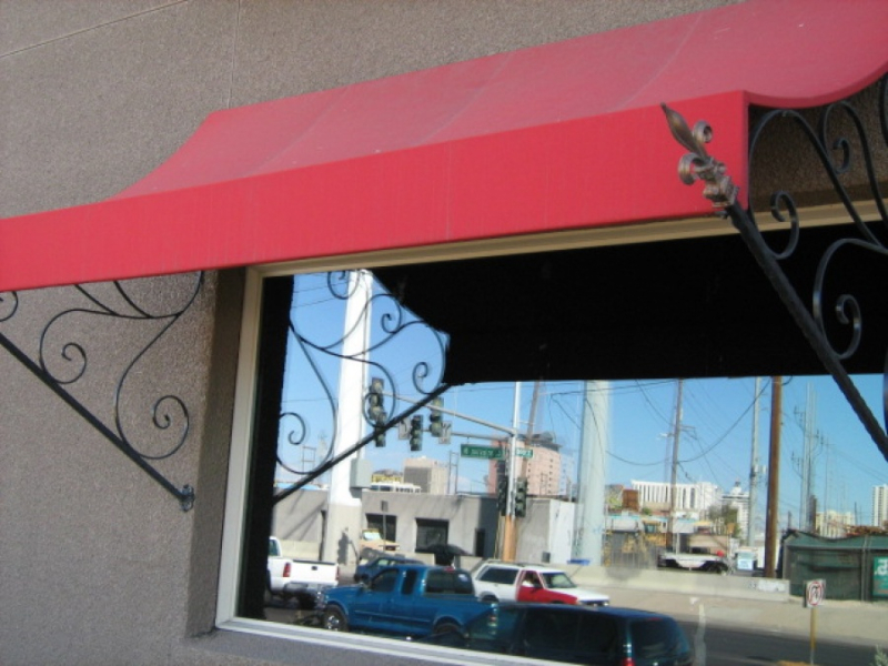 Wrought Iron Awning AW0003