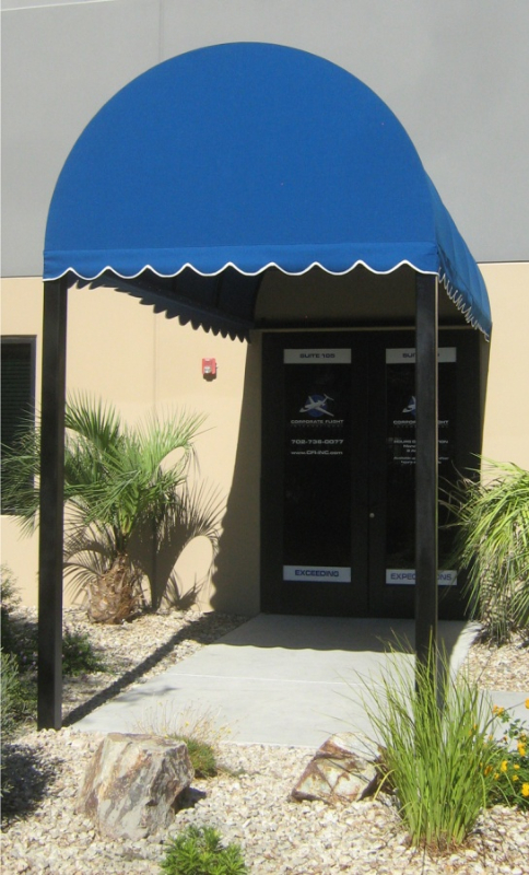 Wrought Iron Awning AW0005