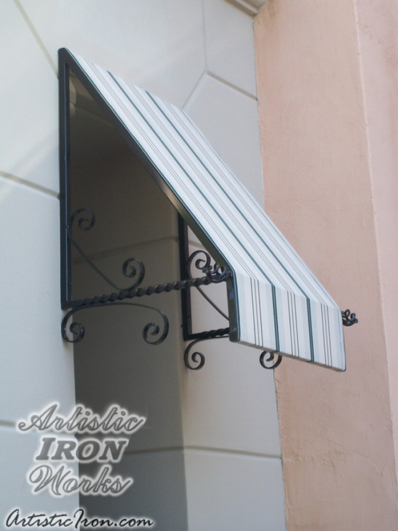 Wrought Iron Awning AW0011