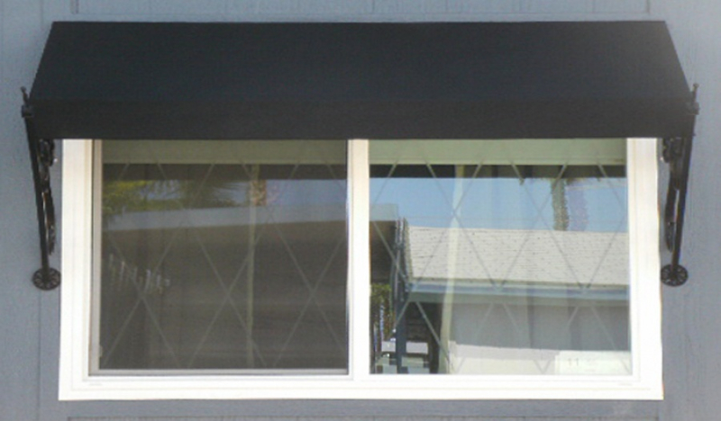 Wrought Iron Awning - Item AW0021 Wrought Iron Design In Las Vegas
