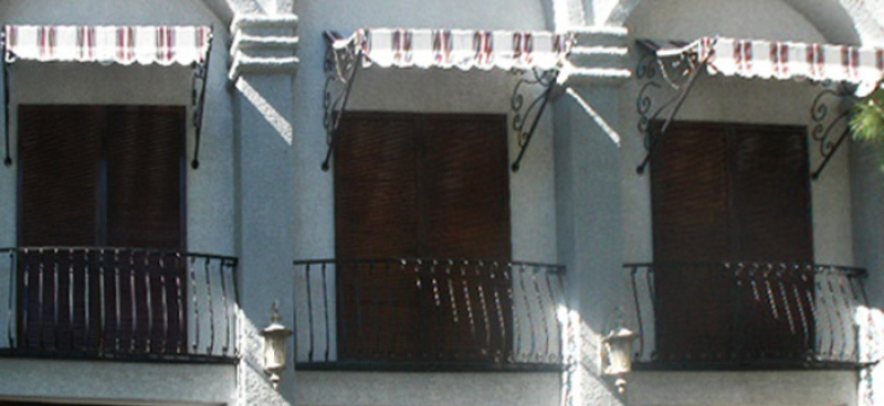 Wrought Iron Awning AW0024