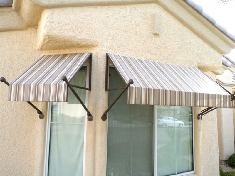 Wrought Iron Awning - Item AW0026 Wrought Iron Design In Las Vegas