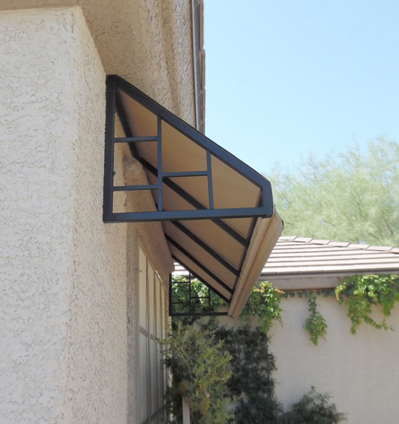Wrought Iron Awning AW0030