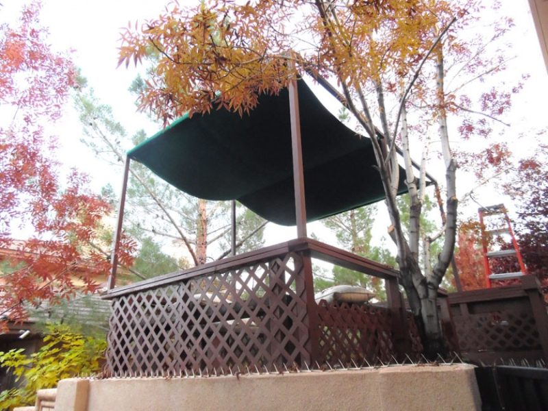 Wrought Iron Awning AW0033