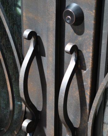 Wrought Iron Door Hardware LV