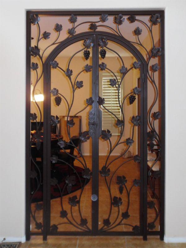 wine cellar doors WCD010 Wrought Iron Design In Las Vegas