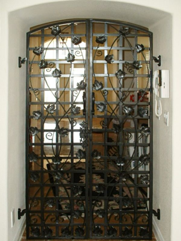 wine cellar doors WCD012 Wrought Iron Design In Las Vegas