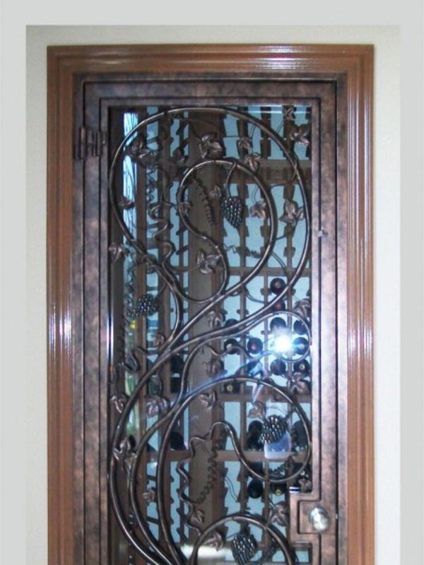 wine cellar doors WCD013