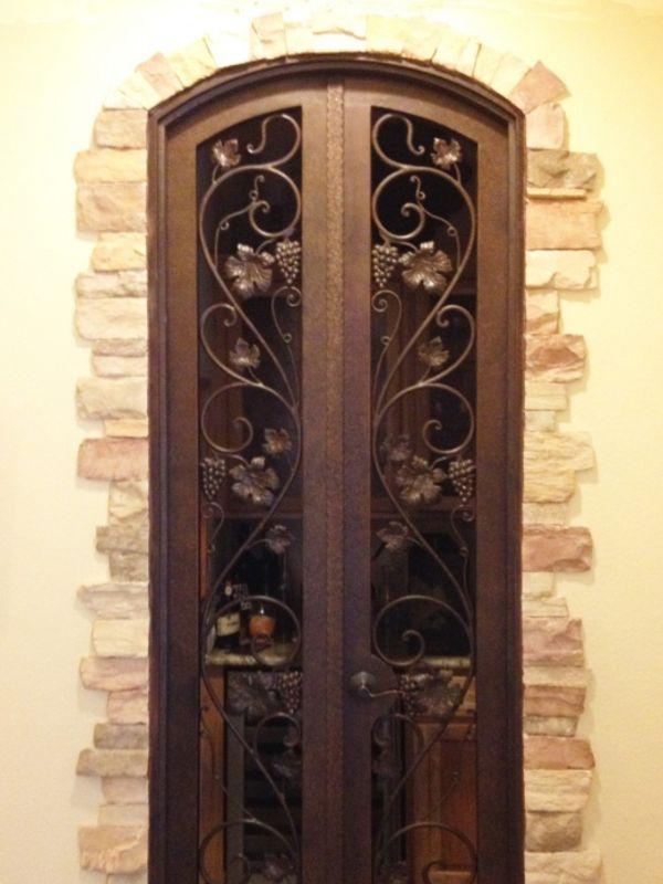 wine cellar doors WCD014 Wrought Iron Design In Las Vegas