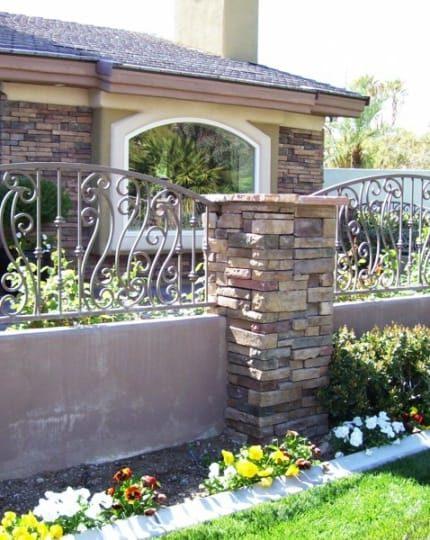 Block Iron Fences LV