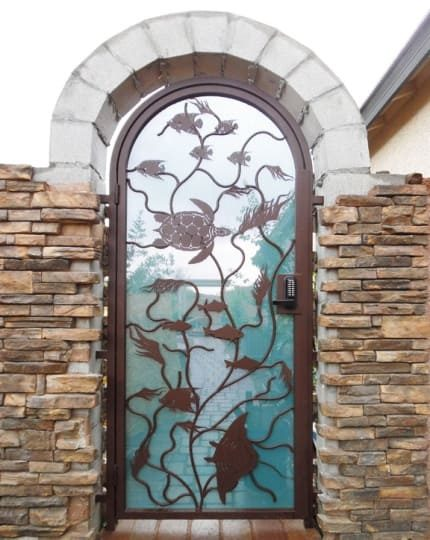 Courtyard Entry Doors LV