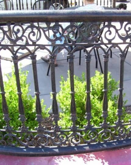 Custom Wrought Iron Fence LV
