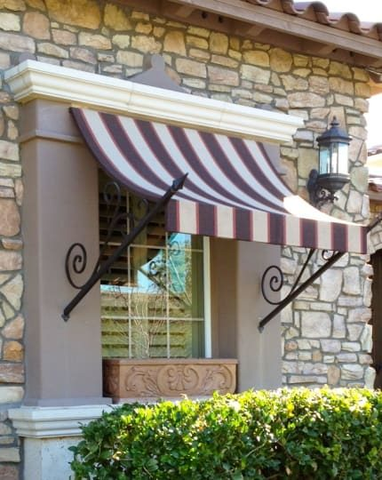 Vegas Wrought Iron Awnings