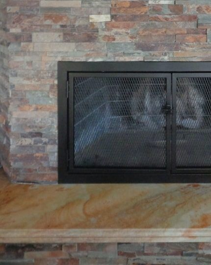 Wrought Iron Fireplace Covers