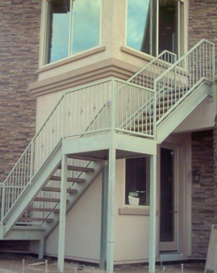 Wrought Iron Staircase LV
