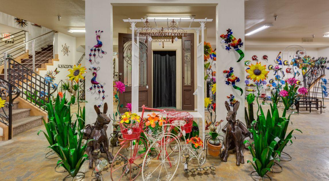 Artistic Iron Showroom Of Home Decor Wrought Iron Design In Las Vegas