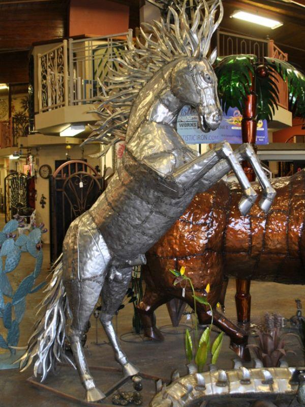 Iron Sculptures IS001 Wrought Iron Design In Las Vegas