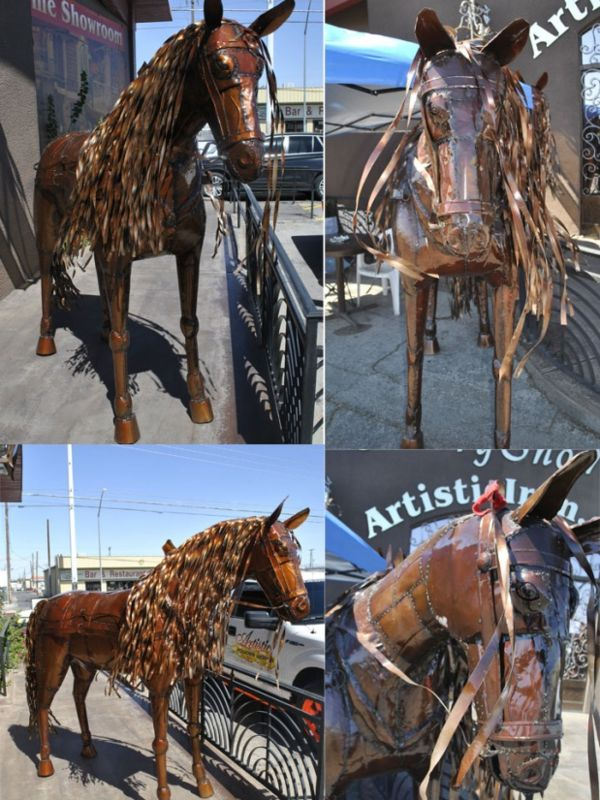Iron Sculptures IS018 Wrought Iron Design In Las Vegas