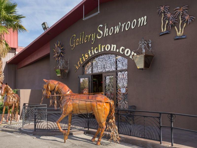 Iron Sculptures IS019 Wrought Iron Design In Las Vegas