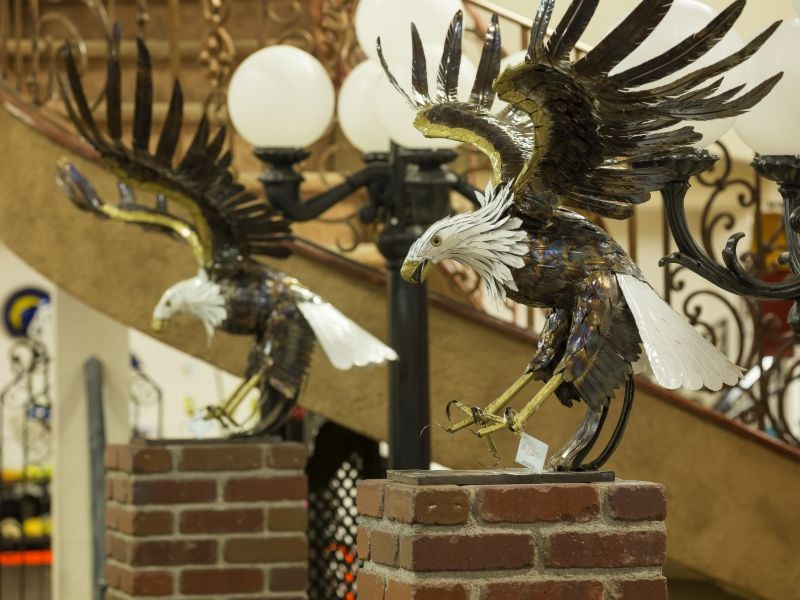 Iron Sculptures IS021