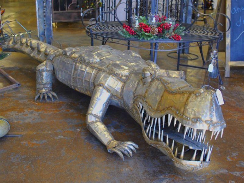 Iron Sculptures IS030 Wrought Iron Design In Las Vegas