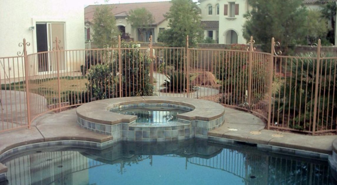 Do I Need A Pool Fence? Wrought Iron Design In Las Vegas