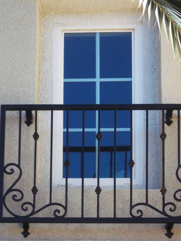 scrollwork Window Guard WG0070 Wrought Iron Design In Las Vegas