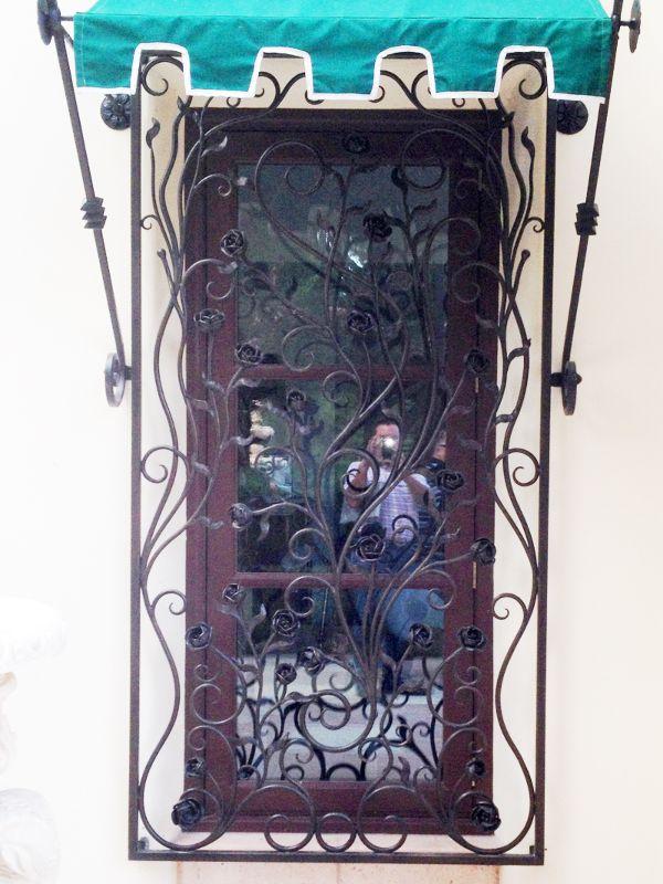 scrollwork Window Guard WG0077 Wrought Iron Design In Las Vegas