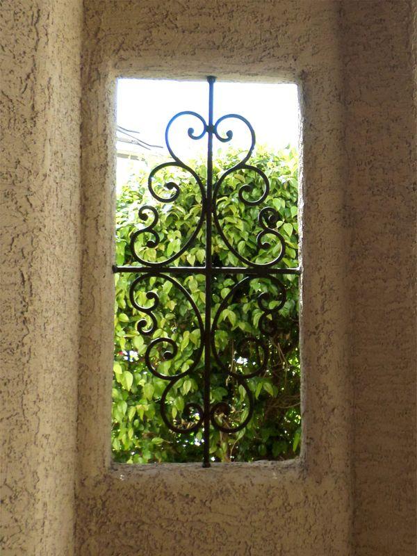 scrollwork Window Guard WG0094 Wrought Iron Design In Las Vegas