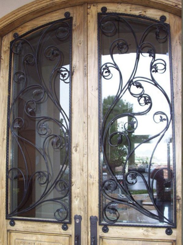 scrollwork Window Guard WG0097 Wrought Iron Design In Las Vegas