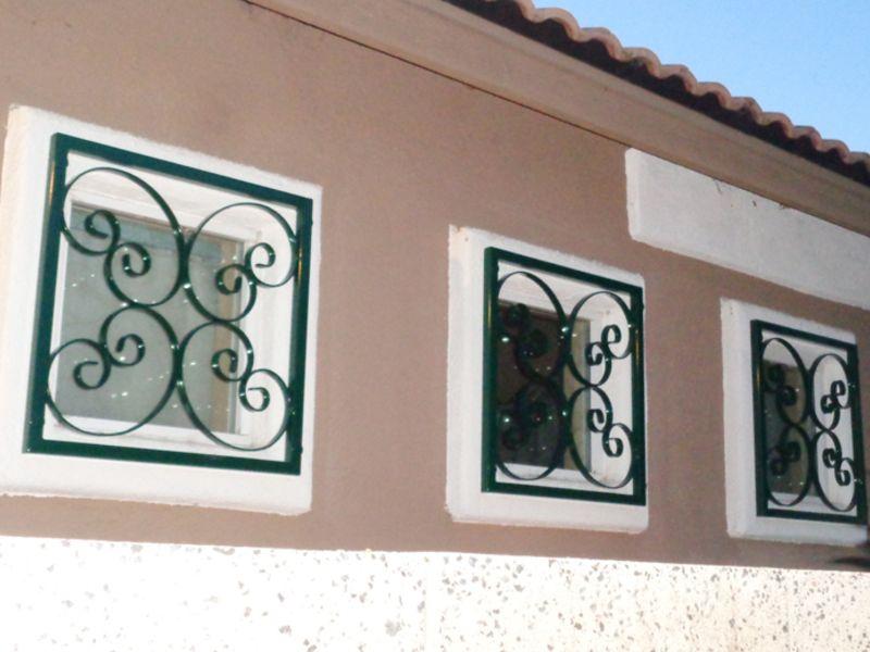 scrollwork Window Guard WG0126A Wrought Iron Design In Las Vegas