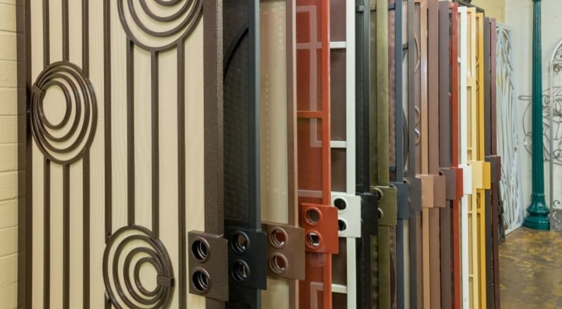 7 Security Door Designs That Match Your Home's Style Wrought Iron Design In Las Vegas