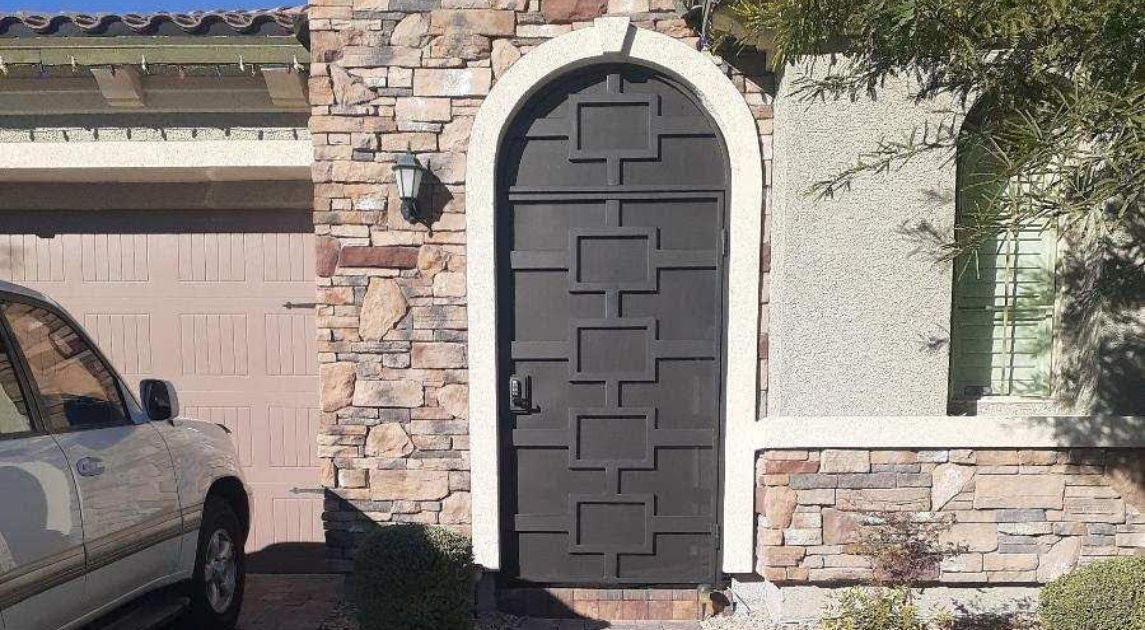 4 Signs It's Time To Replace Your Security Door Wrought Iron Design In Las Vegas