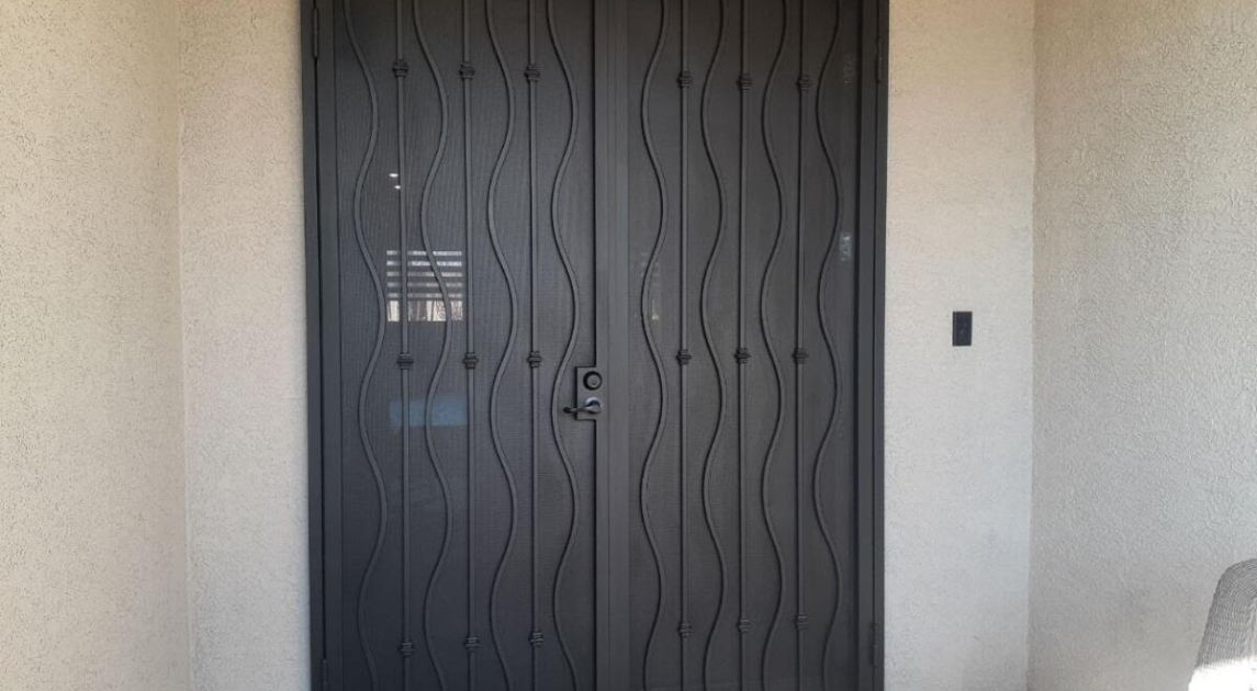 5 Reasons To Invest In A Security Door Wrought Iron Design In Las Vegas