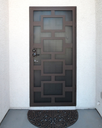 Security Doors Wrought Iron Design In Las Vegas