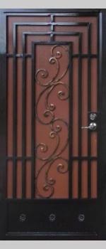 Econoline Security Door - SD10234 Wrought Iron Design In Las Vegas